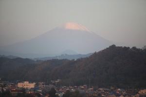 大磯からの富士山